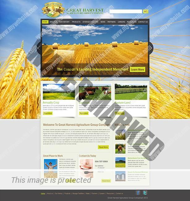 Great Harvest-Homepage